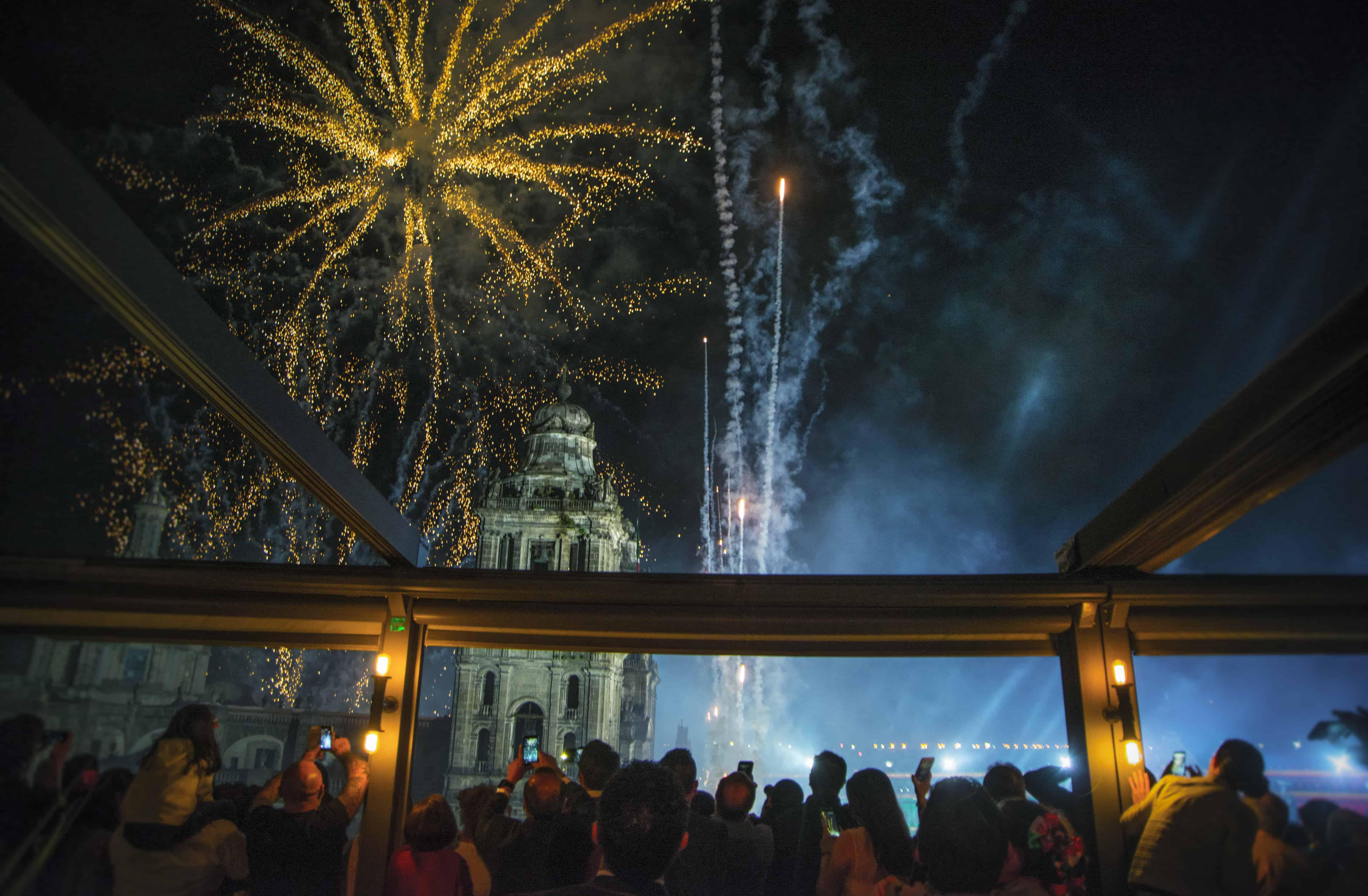 Fiestas Patrias en Balcón del Zócalo