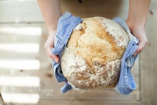 Pan recién salido del horno